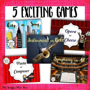 Music or Not Games Bundle