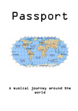 Music passport booklet- a musical journey around the world