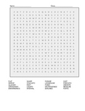 Music puzzles vocabulary review goes along with quiz