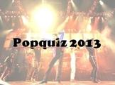 Music quiz June 2013