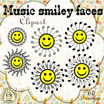 Music smiley faces