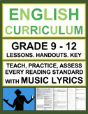Music to Teach Reading Skills! Fun Reading Activities and ELA Lessons!