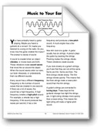 Music to Your Ears (Physical Science/Sound)