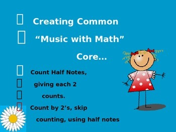 Music with Math, Dolce Dot is Perfect for the Common Core!