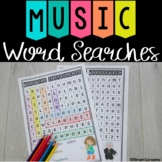 Music word searches