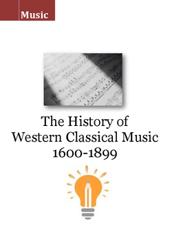 Music workbook : The History of  Western Classical Music