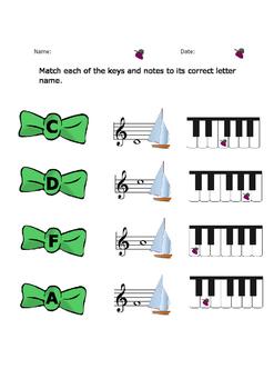 Music worksheet
