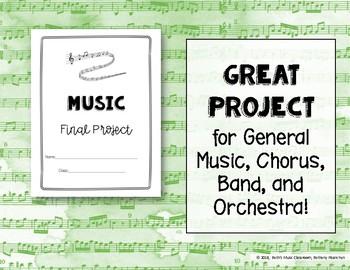 Music/Chorus Project - Interdisciplinary Paper