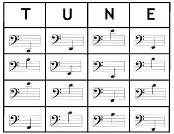 MusicTune Board Games Set Three: Bass Clef Notes, Ledger  Lines & Key Signatures