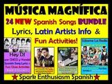 Musica Magnifica - 24 New Spanish Songs Bundle, Latin Arti