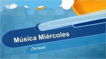 Música Miércoles: ¡Te Toca! Student Choice Project