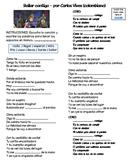 """Basic Verbs in music (video/song lyrics)-Carlos Vives: """"Bailar contigo"""""""
