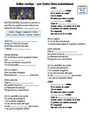 "Basic Verbs in music (video/song lyrics)-Carlos Vives: ""Ba"