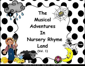Musical Adventures In Nursery Rhyme Land Vol. #1 - PDF Ed.