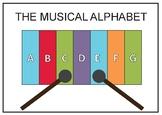 Musical Alphabet Anchor Chart
