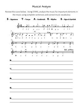 Musical Analysis: Level 2