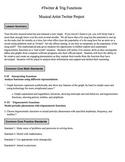 Musical Artist & Twitter - Trigonometric Function Task