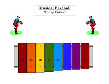 Musical Baseball