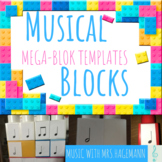 Musical Blocks: Lego Music Notes Template