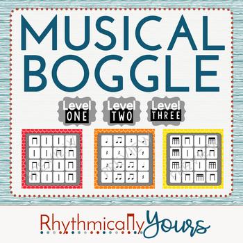 Musical Boggle - Level 1 2 3