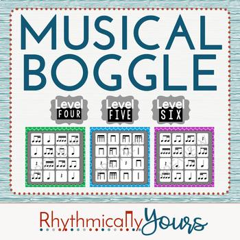 Musical Boggle - Level 4 5 6