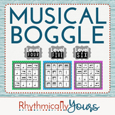 Musical Boggle - Level 4 5 6
