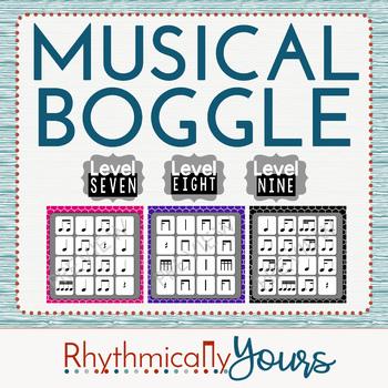 Musical Boggle - Level 7 8 9