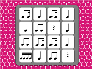 Musical Boggle - Level 7 8 9