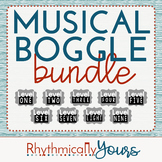 Musical Boggle Bundle- Levels 1 2 3 4 5 6 7 8 9