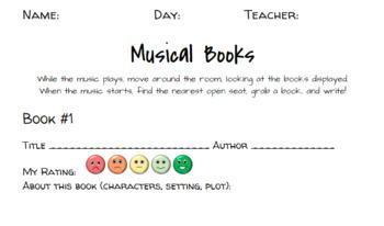 Musical Books!
