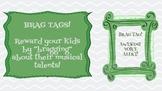 "Musical ""Brag"" Tags"
