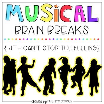 Musical Brain Breaks - Video 2 ( Can't Stop the Feeling )