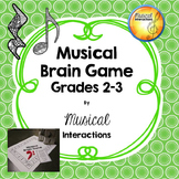 Musical Brain Game grades 2-3 (B&W)