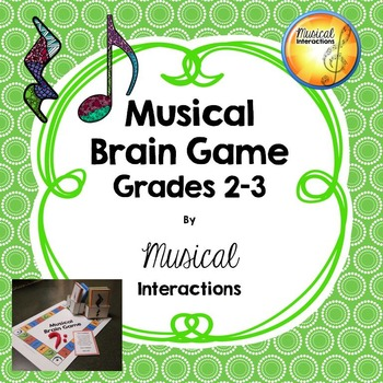 Musical Brain Game grades 2-3 (full color)