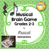Musical Brain Game grades 2-3 (full color)
