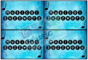 Musical Buzzword