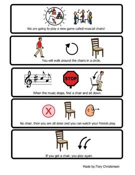 Musical Chairs Visual
