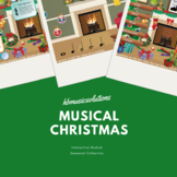 Musical Christmas Interactive Music Games and Activities