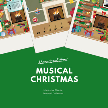 Musical Christmas Interactive Games and Activities