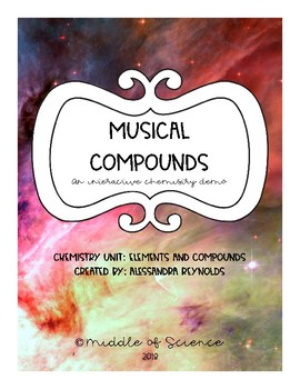 Musical Compounds: Chemistry Demo