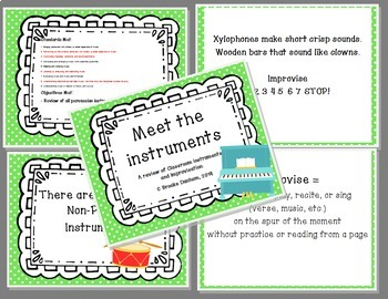 K-3rd Musical Concepts Review Unit for Back to School