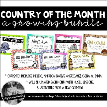 Musical Country of the Month {A Growing Bundle}