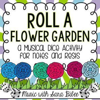 Musical Dice Activity: Roll a Flower Garden!