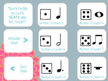 Musical Dice Equations