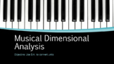 Musical Dimensional Analysis