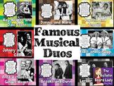 Musical Duos Bulletin Board