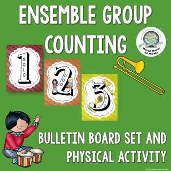 Musical Ensemble Group Counting Numbers: Solo, Duet, Trio