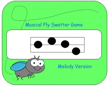 Musical Fly Swatter Game: Melody Version