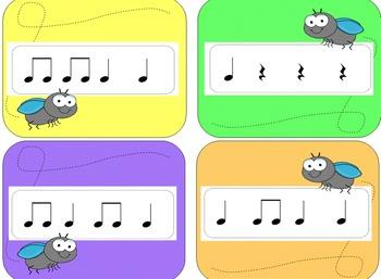Musical Fly Swatter Game: Rhythm Level 1