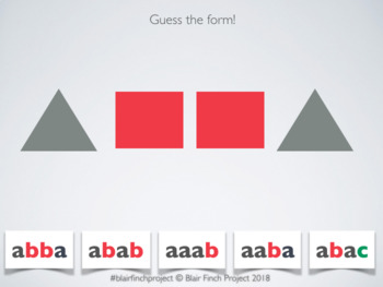 Musical Form Game/Quiz